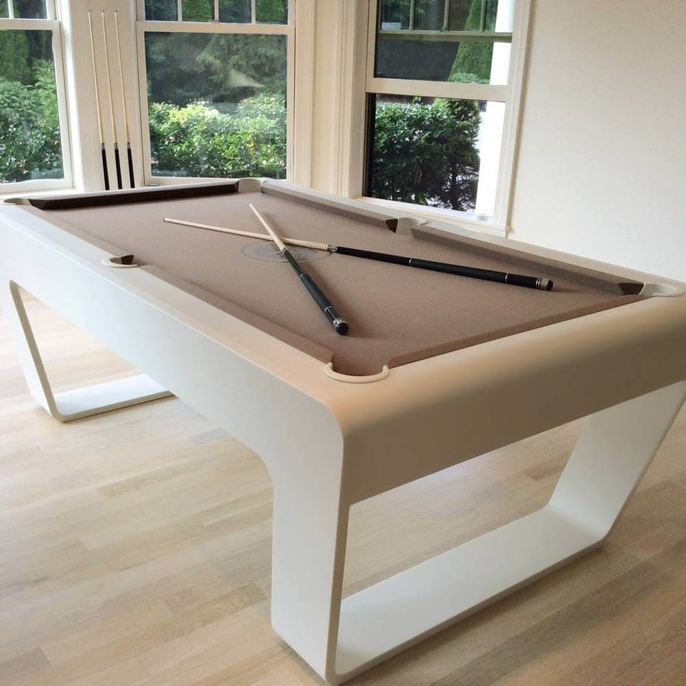 Contemporary billiards table
