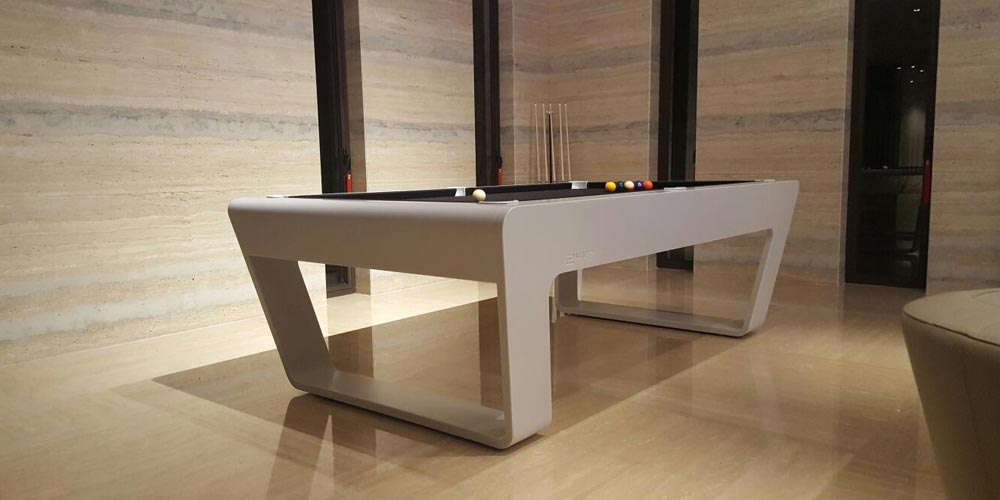 Luxury pool table designed by Porsche Design Studio