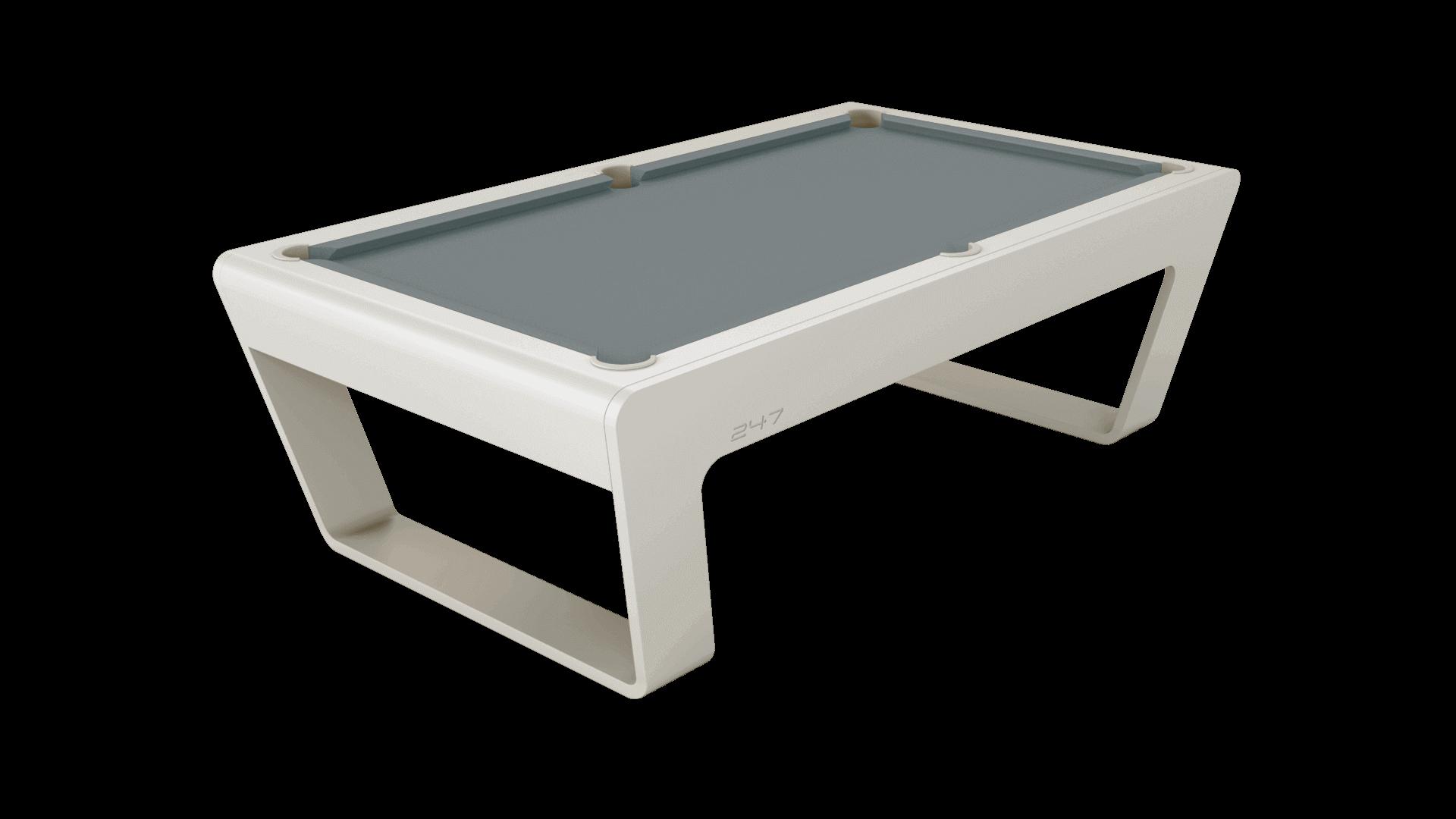 247 Billiards Tisch pearlgray