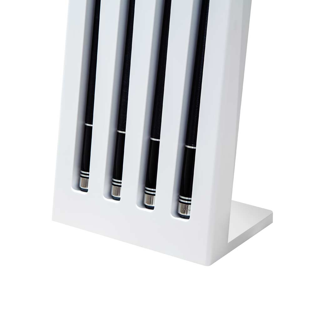 Elegant cue stand made from finest Corian