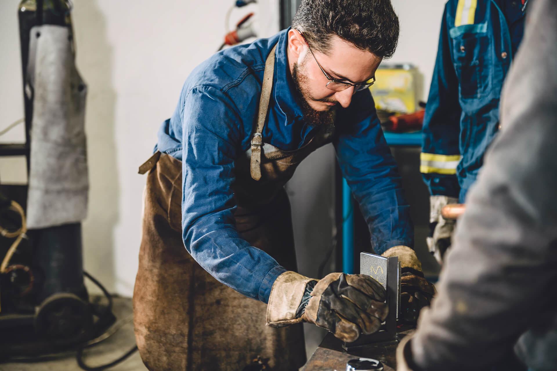 Tradition and Craftsmanship in Wells, Austria at Steininger Metalverabreitung